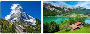 Major Landmarks in Switzerland