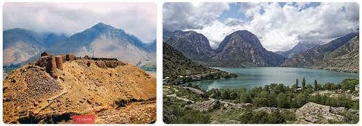 Major Landmarks in Tajikistan