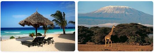Major Landmarks in Tanzania