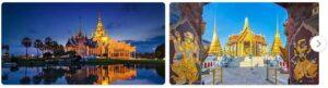 Major Landmarks in Thailand