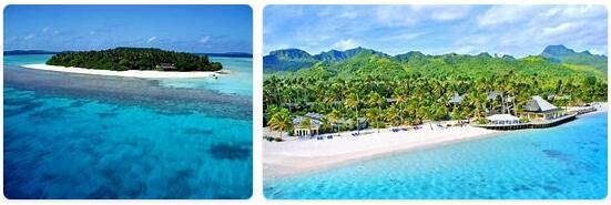 Major Landmarks in Tonga