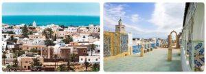 Major Landmarks in Tunisia