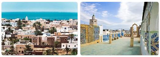 Major Landmarks in Tunisia