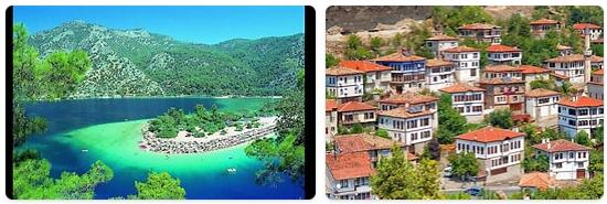 Major Landmarks in Turkey
