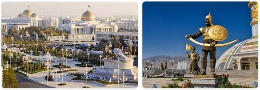 Major Landmarks in Turkmenistan