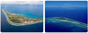 Major Landmarks in Tuvalu