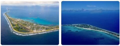 Major Landmarks in Tuvalu