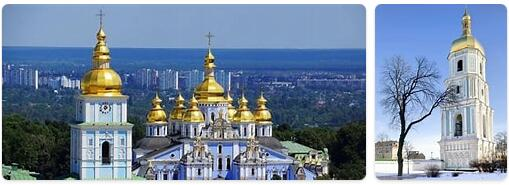 Major Landmarks in Ukraine