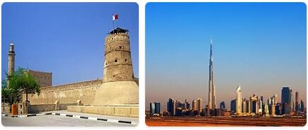 Major Landmarks in United Arab Emirates