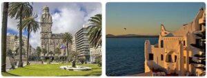 Major Landmarks in Uruguay