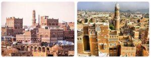 Major Landmarks in Yemen