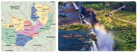 Major Landmarks in Zambia