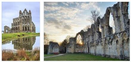 Monasteries in the north of England